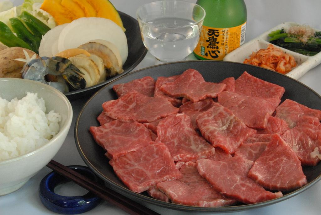 栃木県産和牛を焼肉で!