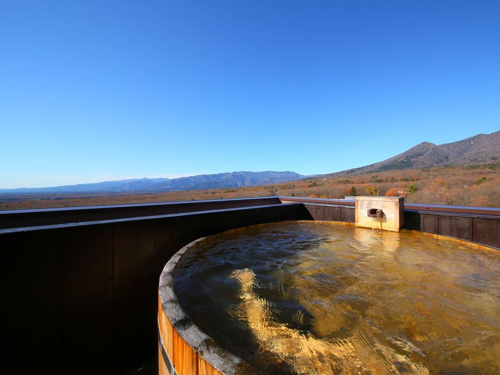 絶景天空の貸切露天風呂