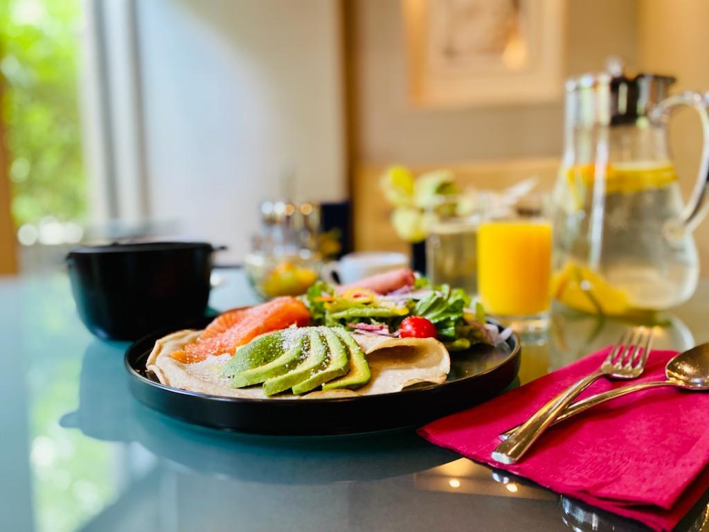 プリフィクス朝食