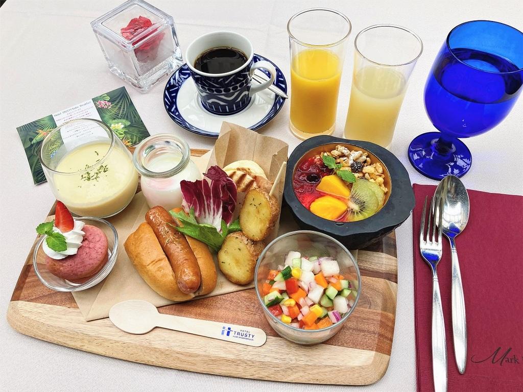 デリカテッセン朝食メニュー例(多彩なバリエーションで少しずつお召し上がりください!)