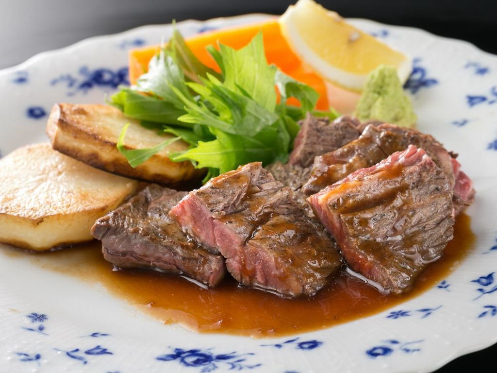 【別注料理】国産牛のステーキ
