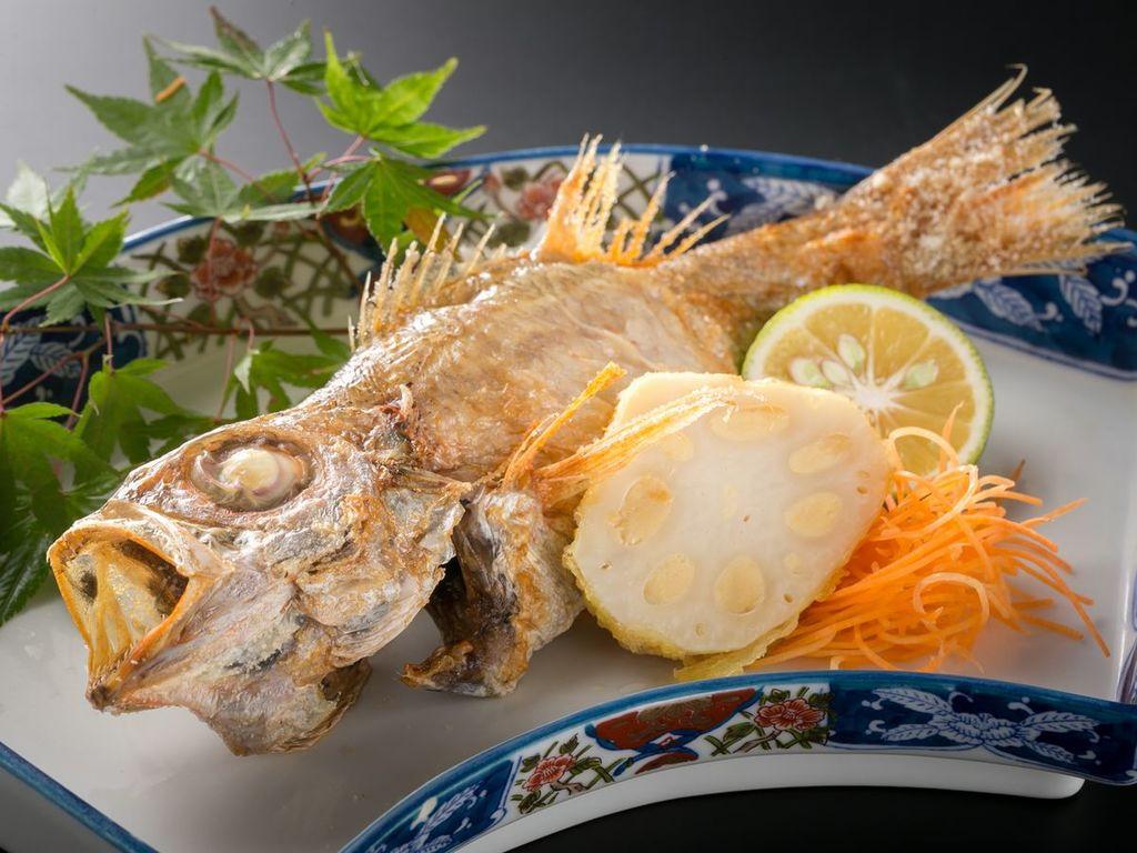 【別注料理】のどぐろの塩焼き