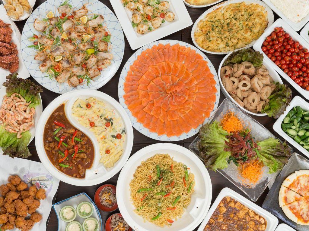 和洋中ビュッフェ(夕食料理イメージ)