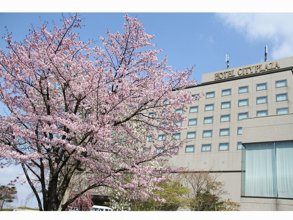 Hotel City Plaza Kitakami -【春】外観