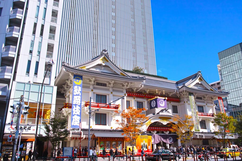 歌舞伎座(昼)