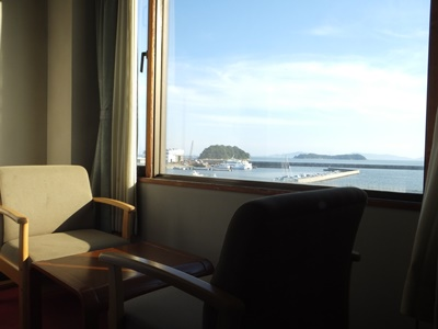 客室からの風景