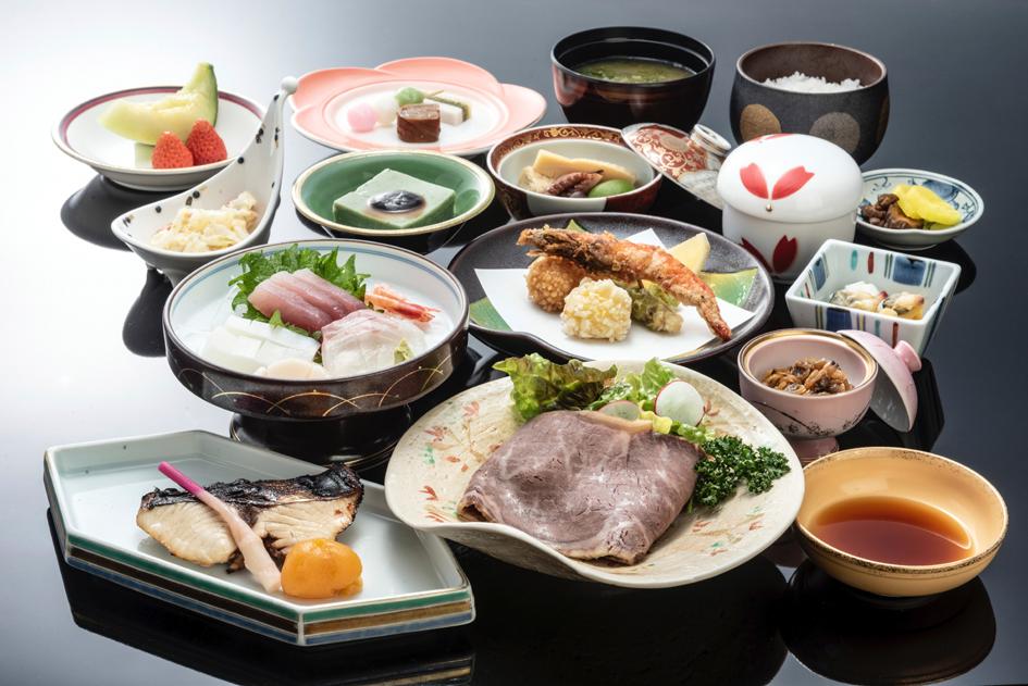 和食料理(写真は一例です)