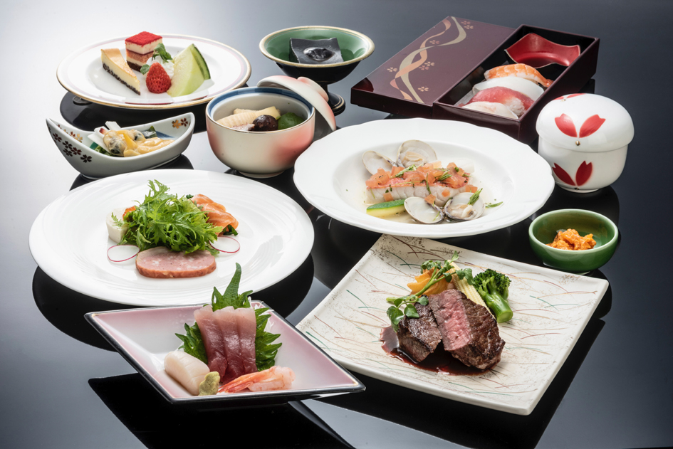 和洋折衷料理(写真は一例です)