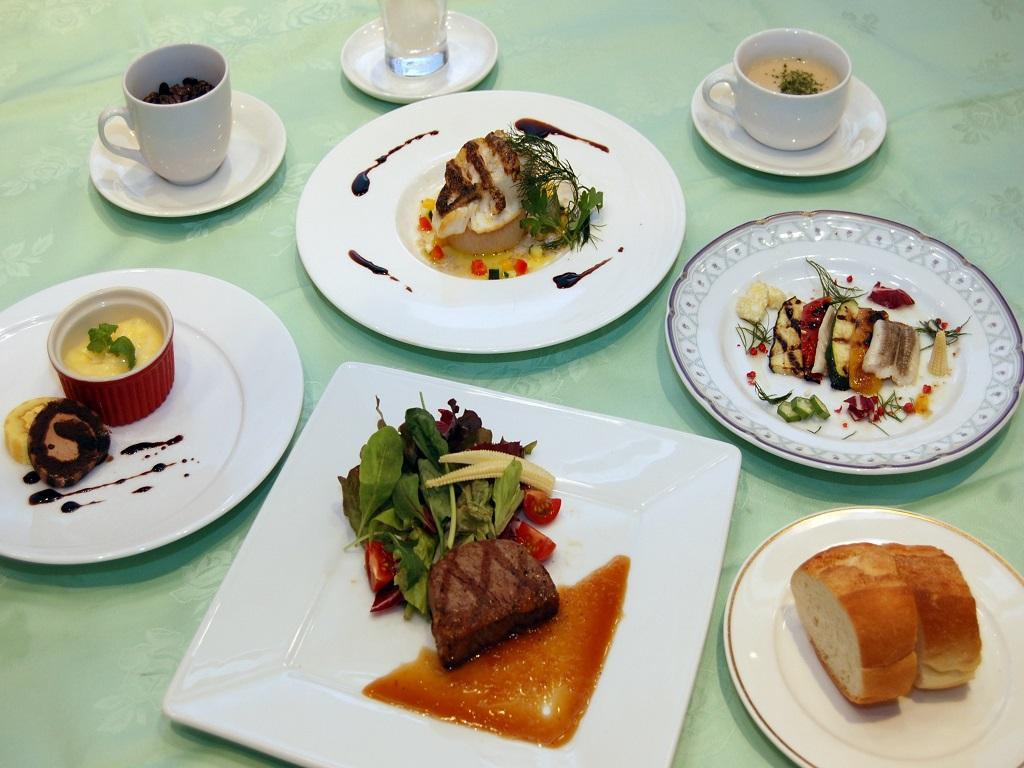 【レストラン】コース料理一例