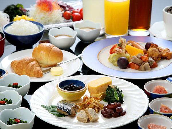 朝食(和洋バイキングイメージ)