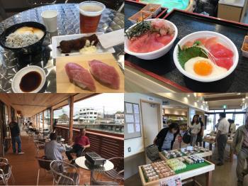 漁港で朝食!!勝浦漁港にぎわい市場【1500円分チケット付】宿泊プラン