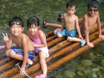 【お子様に花火プレゼント】ファミリーにおすすめ♪夏休みは川遊び♪1泊2食ハーフバイキングプラン