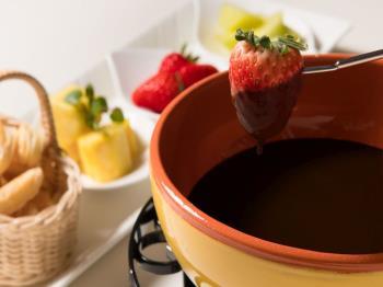 【冬季限定】あったかチョコフォンデュ付★カップルプラン♪~素敵な夜に甘いデザートを~