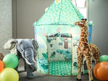 【FUN ! FUN ! ZOO】≪一日一室限定≫ 動物園デコレーションルーム -東山動植物園...