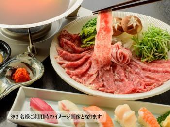 【島割★第二弾】贅沢◎あぐー豚のしゃぶしゃぶ&お寿司!「特別御膳」&朝食バイキング♪