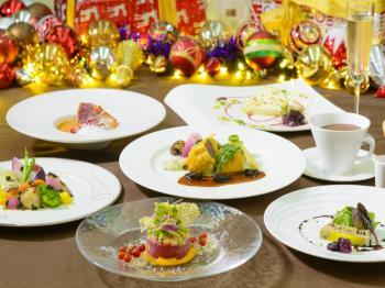 ☆クリスマス限定☆聖なる夜に大切な人と過ごすロマンチックステイ クリスマスディナー&ビュッフェ朝食付