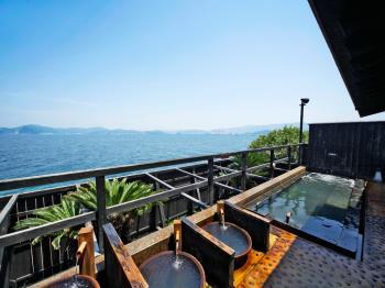 【7/15~8/31:朝食付き】露天風呂から眺める海はまさに絶景☆選べる天然温泉で癒されstay♪【スタンダードプラン】