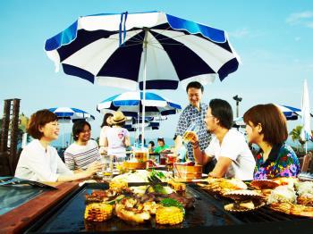 【4~5月お日にち限定】青い空と海を眺めながら爽快ランチ!「手ぶら」でうれしいBBQ♪【お食事のみ】