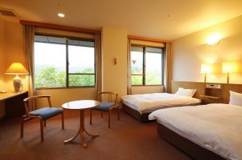 【旅館でベッド】ベッドのあるお部屋で過ごす快適な休日!♪