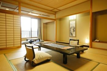 【夕食お部屋食-1泊2食】 【禁煙】西館12.5畳広々和室で優雅に過ごすひととき