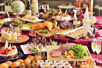 【2019X'mas宿泊プラン】クリスマスディナーブッフェ☆みんなで楽しむDelicious!クリスマスナイト♪