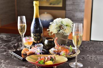 【2019 X'masディナー付き】聖夜~大切な人と特別なひとときを~ in日本料理「弁慶」