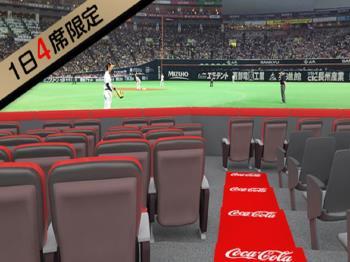 【野球観戦☆2021】迫力・興奮・感動のコカ・コーラシートプラン(GoToトラベル対象外)