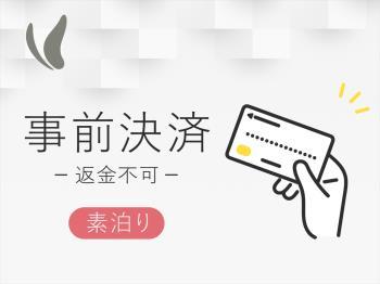 HP返金不可&事前決済のみ☆スーパーお得プラン☆ ~素泊まり~