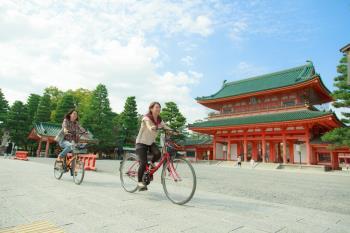 P 自転車で古都京都をめぐってみよう!~レンタサイクル割引特典付き宿泊プラ...