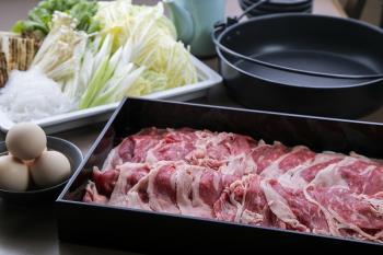 【夕食・朝食】1日5組限定!お部屋で楽しむ宮崎牛すき焼きプラン