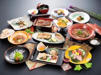 ~リピートNO1「厳選鰻料理9種類」~料理長の思いを込めて~■うなぎ三昧~会席プラン