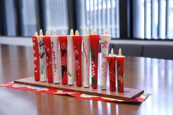 京都の伝統文化【和蝋燭の絵付け】をホテルで体験!京旅記念におすすめ<朝食付き>