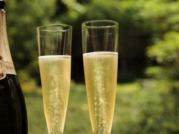 【感謝を込めて】平日限定 翠松園オリジナルボトルシャンパーニュ付ご優待プラン