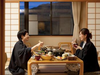 ◎ 【ゆったり部屋食】■1日5室限定■料理全品別々二人でビュッフェ気分写真
