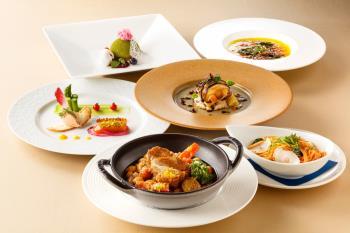 【セレクトDinner】 35階レストラン&バー『SKY J』夕食付き