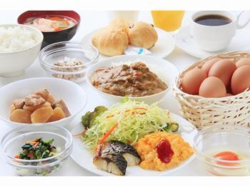 【朝食付プラン】大人気「蘭王たまご」復活!!朝はしっかり食べてご出発♪