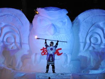 【極寒を楽しもう!】阿寒湖氷上フェスティバル体感プラン
