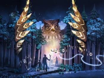 【早期予約30】<~9月>阿寒デジタルアート・ルミナナイトウォーク「カムイルミナ」チケット付
