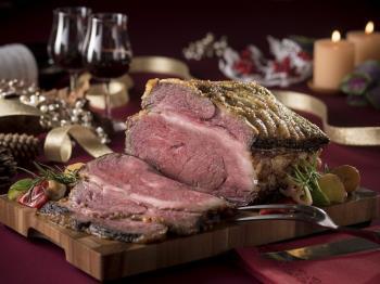 【森と湖のリゾートブッフェXmas】道産牛のローストビーフなどで大満足のクリスマス♪
