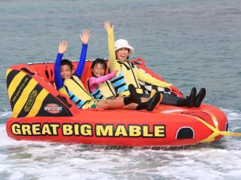 【2連泊限定】マリンレジャーで夏の海を満喫★バナナボート&ビッグマーブル&シーカヤック付<朝食付>