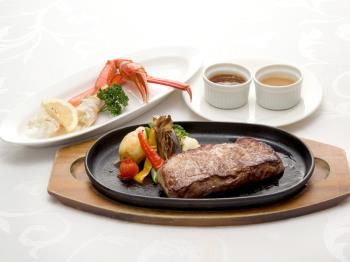 【1泊2食付】がっつりお肉とズワイガニ 90分食べ放題ディナープラン