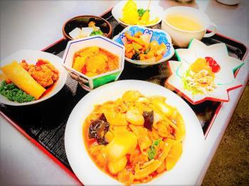 [GO TOトラベル対象]【2食付】日替わりメニューの本格中華夕定食&朝定食【駐車場無料】