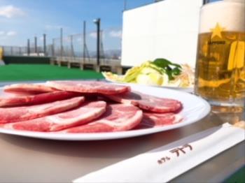 【ビアガーデン】ご夕食は屋上でジンギスカンを楽しもう☆1泊夕食付