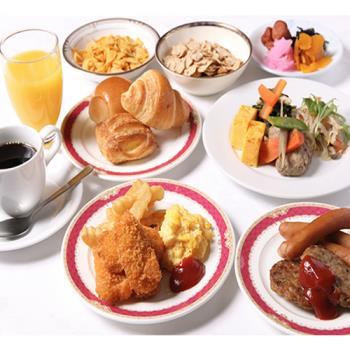 プチカップルプラン☆うれしい朝食バイキング付♪ ■大津駅直結!京都まで9分!