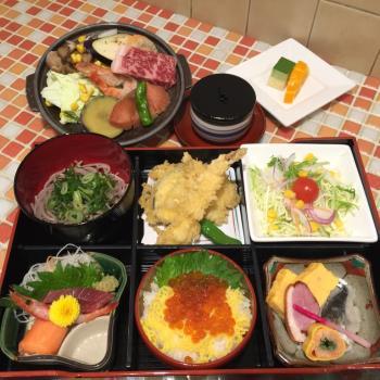 ホテルテトラ大津特製ご夕食「淡海(おうみ)」☆和牛魚介陶板焼をはじめとするメニュー【2食付プラン】