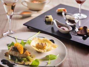 《公式HP限定》【スタンダード】和風フレンチレストラン KAZE☆NO☆OTO~地元の食材を冬のアレンジで