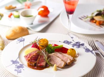 《公式HP限定》【スタンダード】和風フレンチレストラン KAZE☆NO☆OTO~地元の食材を春のアレンジで