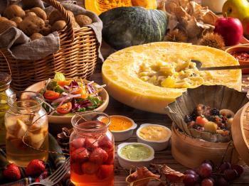 《公式HP限定》【9/1~11/30限定】乃の風が奏でる秋の魅力~美しい色彩と香りのブッフェ