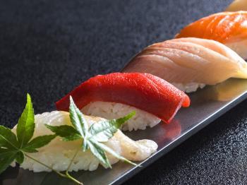 《公式HP限定5%OFF》【Summer Collection】<緑の風オープン1周年記念>和食料理人から握りたてのお寿司をプレゼント
