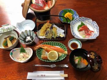 【はこだて割】【新しい旅のスタイル】でお得に!海鮮夕定食+ワンドリンク付プラン(2食付)